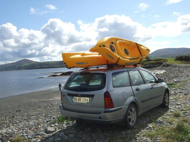 Black 5m Roof Rack Cam Buckle Tie Down Strap Kayak Surf Board Sit on Top